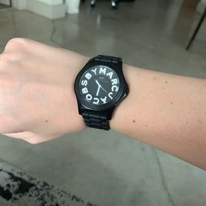 Marc By Marc Jacobs Accessories - Marc by Marc Jacobs silicone watch